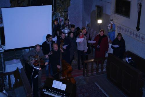 Rozcvícení vánočního stromku a adventní koncert v kostele