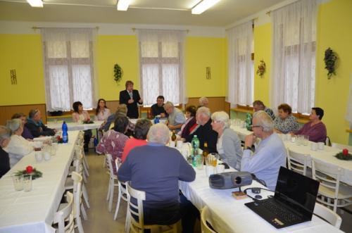 Setkání seniorů 25.11.2017