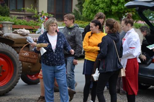 Slavnostní májový průvod obcí 2019